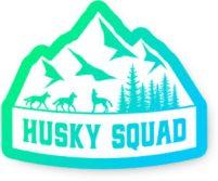 husky squad logo