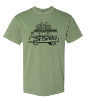 "The ""Societal Distancing"" art shirt."