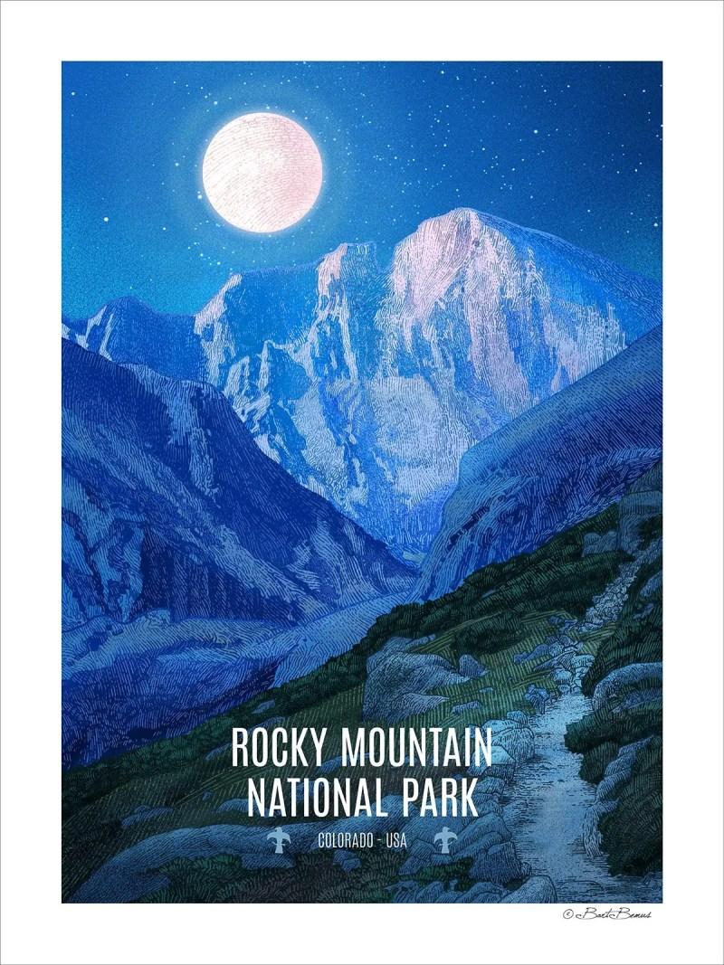 Rocky Mountain National Park - Longs Peak