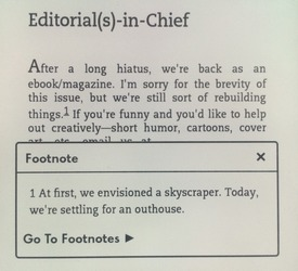 Footnotes!