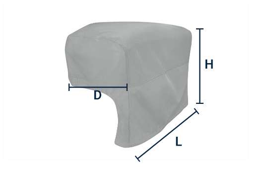 built in bbq grill cover