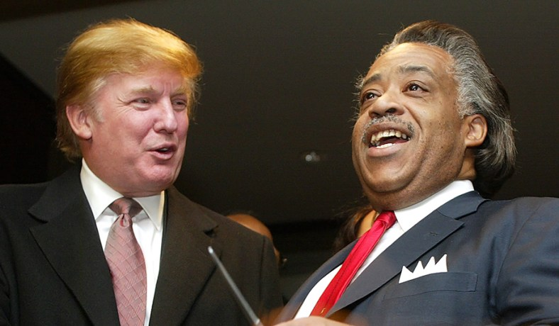 Donald Trump's Pal Al Sharpton | [site:name] | National Review