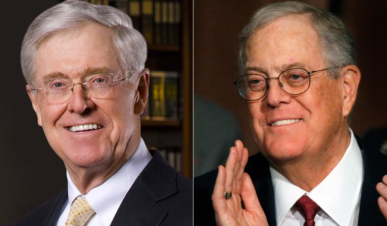 Charles David Koch We Know Who You Are >> Koch Brothers Scale Back Campaign Spending Nr Exclusive National