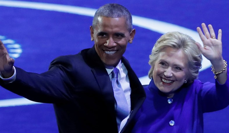 Image result for obama clinton