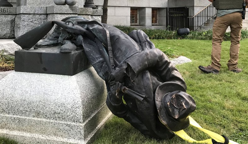 Destroying Confederate Statues: What's End Point? Washington ...