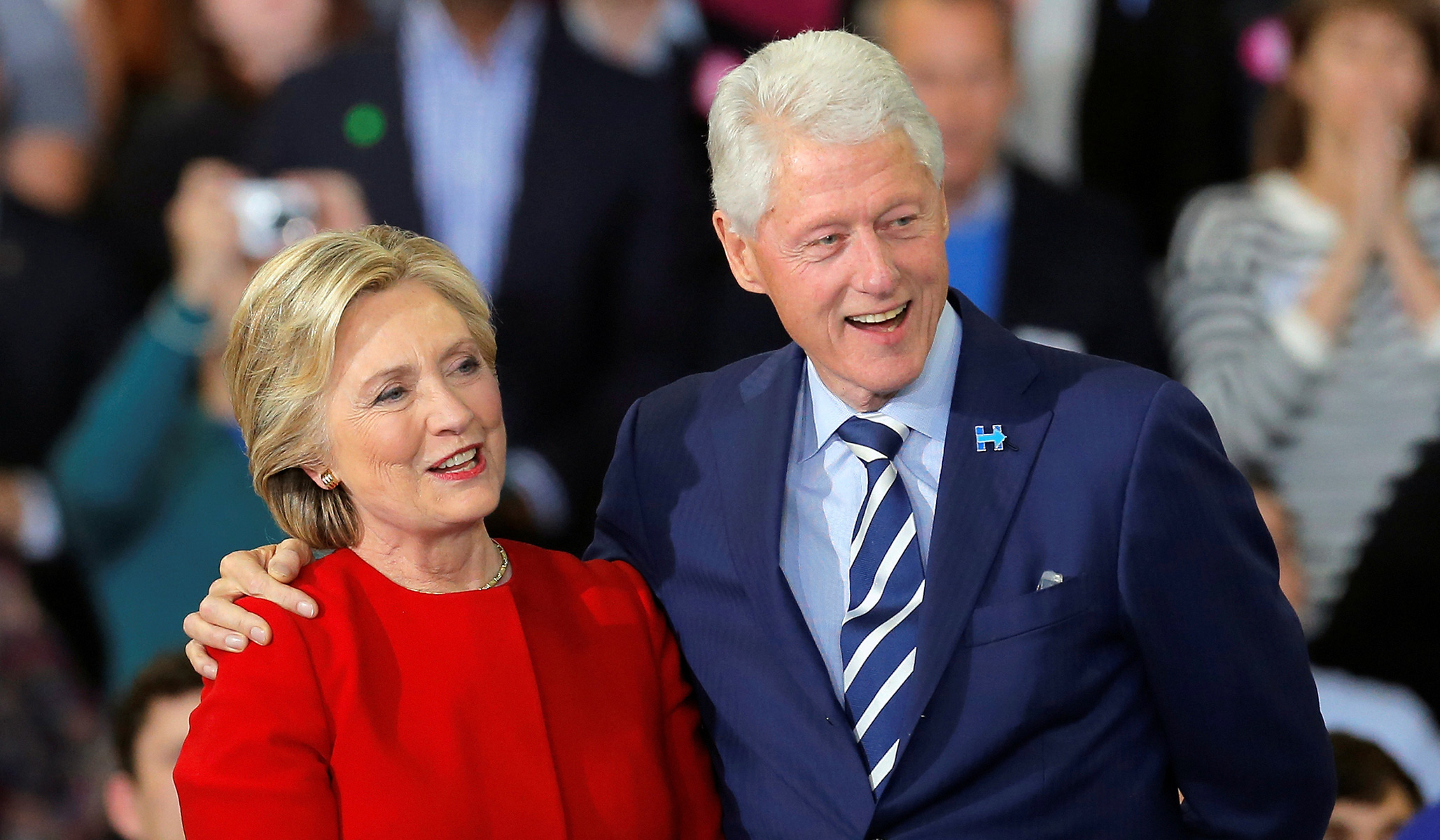 Image result for hillary+bill