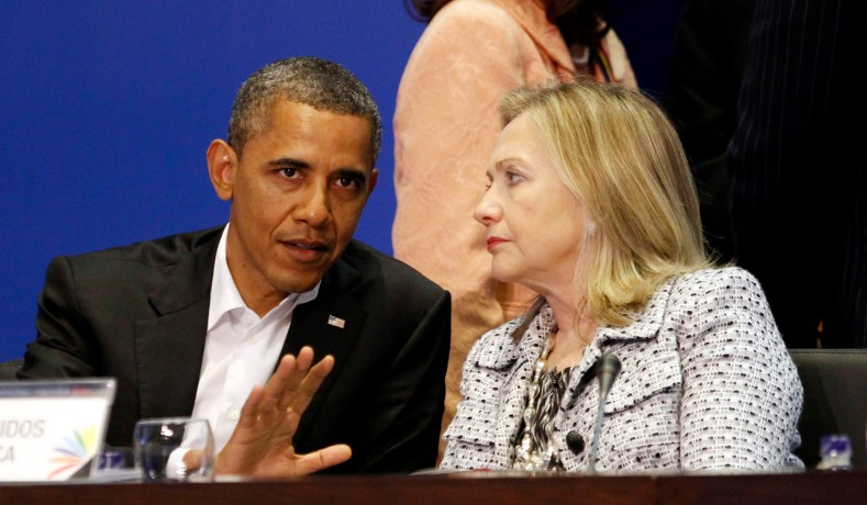 Image result for obama knew of Hillary Clinton's server