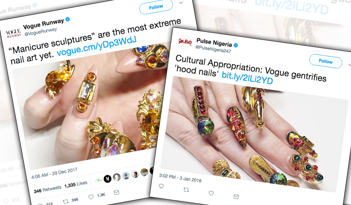 Cultural Appropriation: Black Culture Is Said to Own Long Nails ...