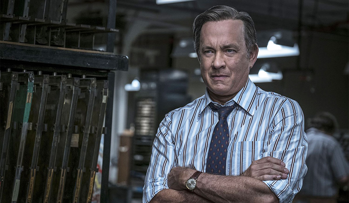 Tom Hanks As Washington Post Editor Ben Bradlee In The Post (Twentieth  Century Fox/Storyteller Dist.