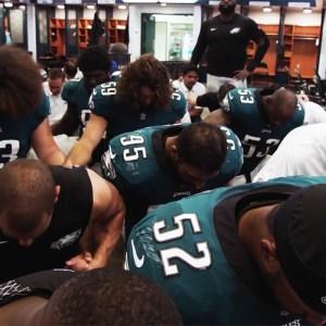 f7fa7c449b1 Philadelphia Eagles Win: God Loves Them & Us All | National Review
