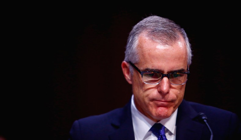 Andrew McCabe Firing & Political Class Double Standards ... Andrew Mccabe