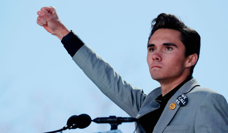 Marjory Stoneman Douglas High School Student David Hogg Gives A Speech At The March For Our Lives Event In Washington D C On March