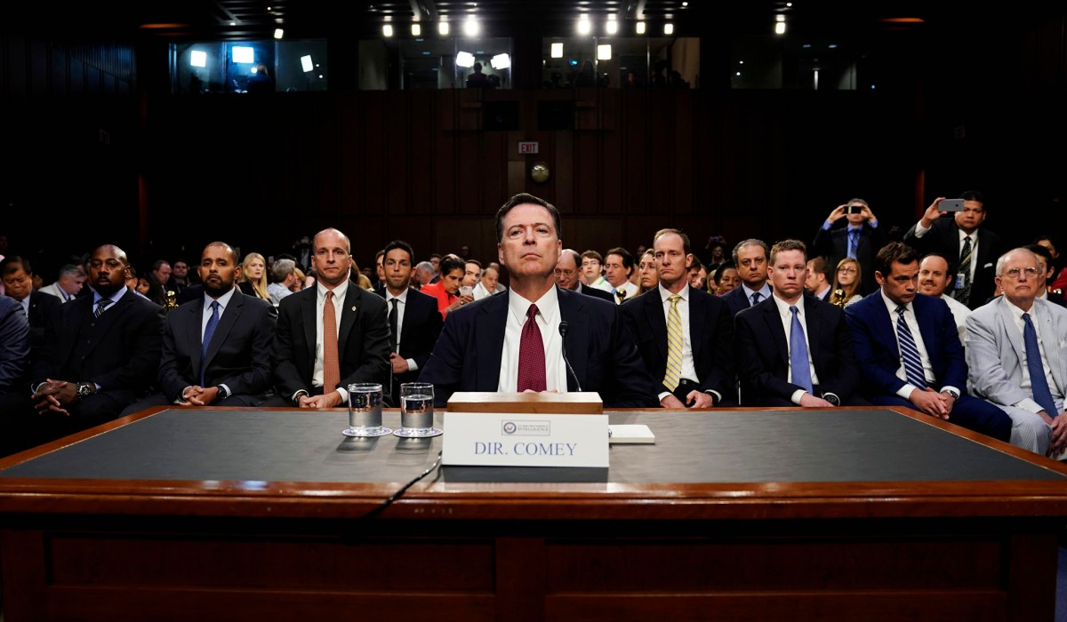 photo image James Comey Confirms Once Again that He Failed America in 2016