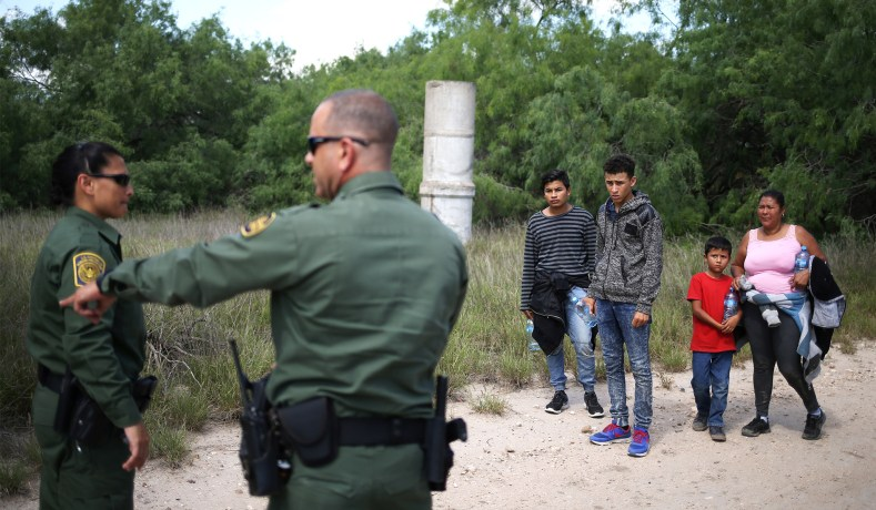 Image result for border agents illegal immigrants 2018