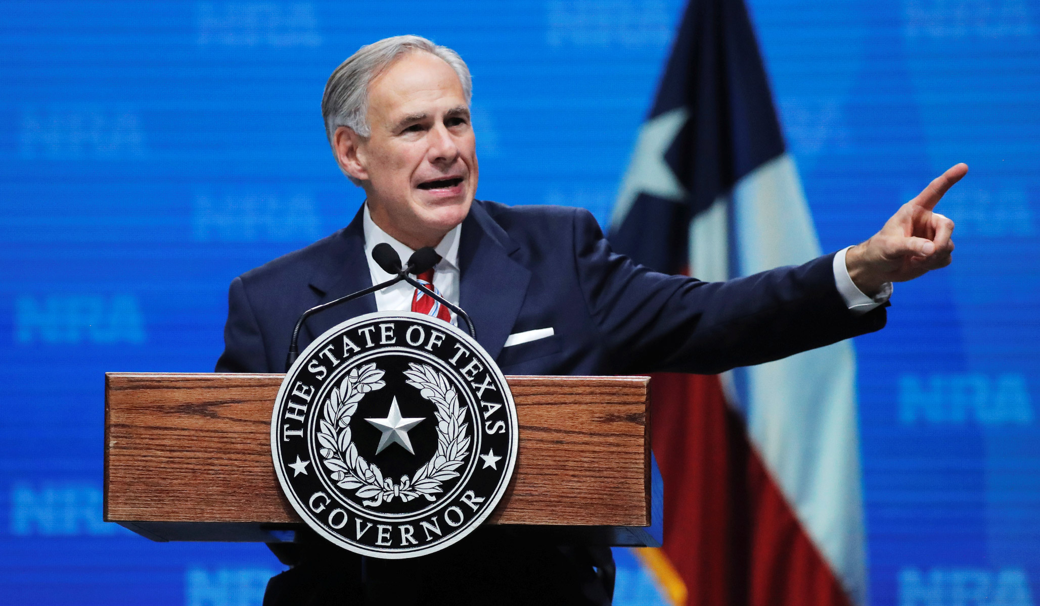 Texas Governor: Coronavirus Spreading at 'Unacceptable Rate' in State thumbnail