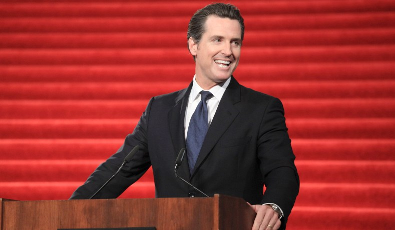 Image result for governor gavin newsom
