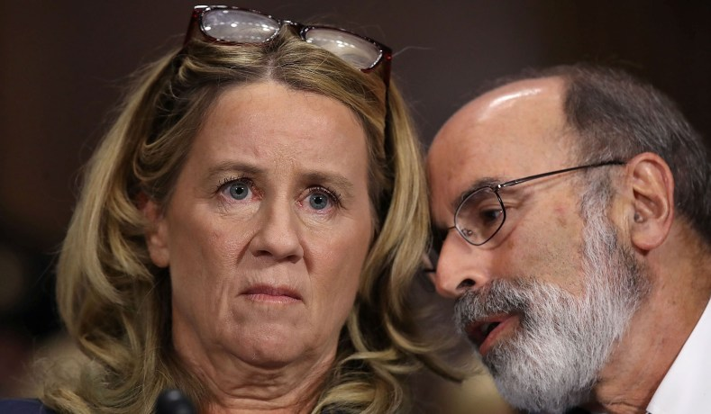 Christine Blasey Ford: Brett Kavanaugh Accuser Confesses She Flies Often after Citing Worry of Flying to Postpone Hearing