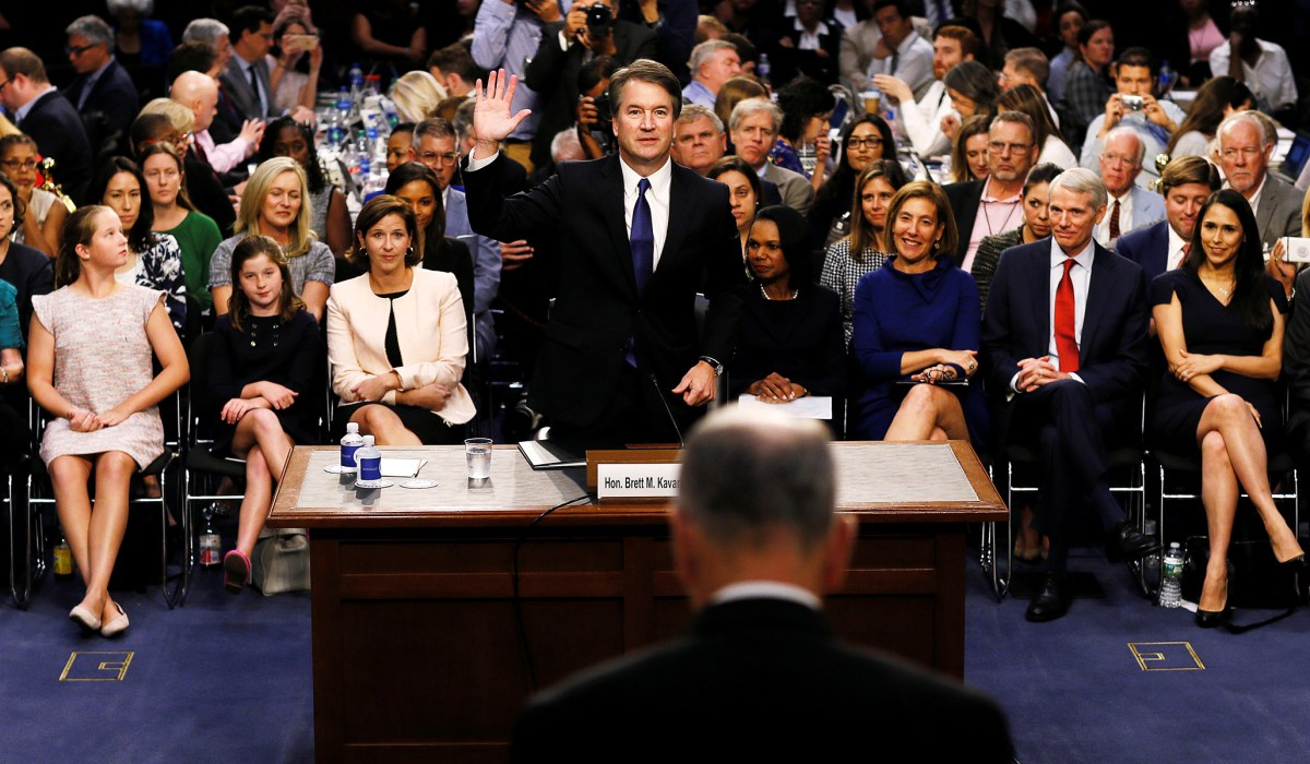 Kavanaugh's Confirmation Process Is a Maelstrom of Insincerities