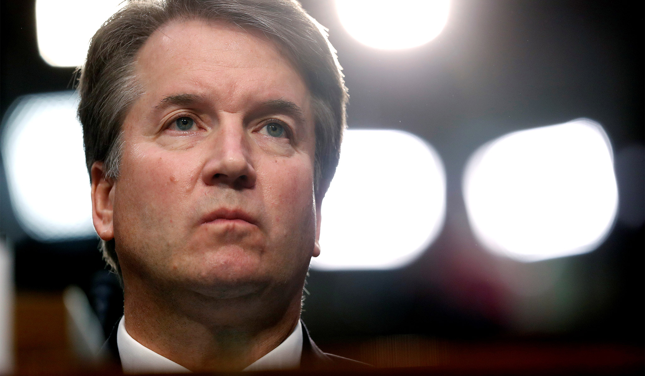 brett kavanaugh confirmation hearings lights