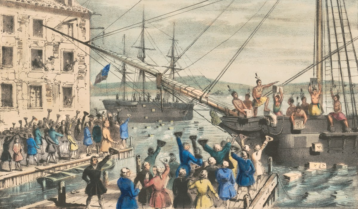 Why the Boston Tea Party Was Such a Great Event