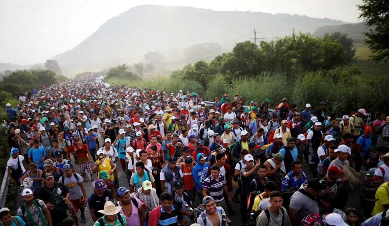 For what it's worth: Caplan and 'Open Borders'  Migrant-caravan