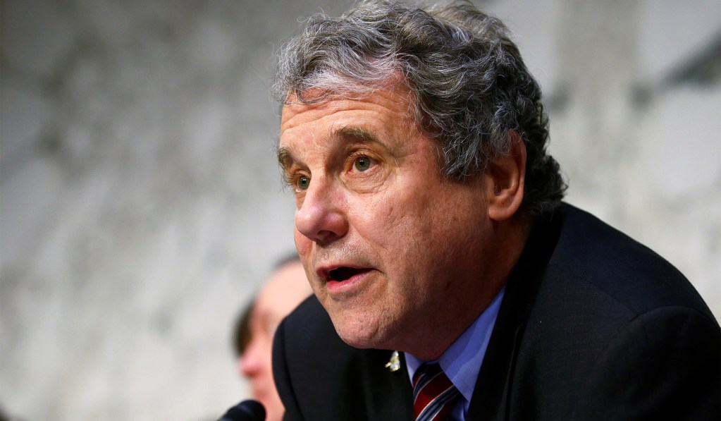 Sherrod Brown Doesn't Want to Go to Work