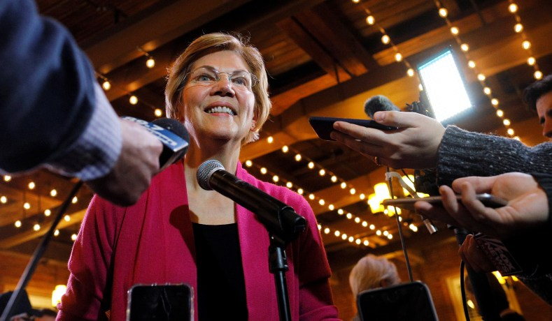 Warren Backs Government Reparations for African Americans