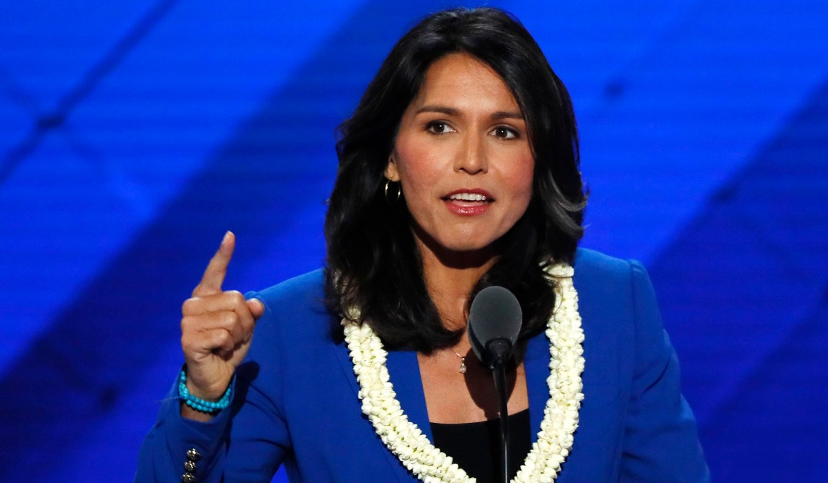Tulsi Gabbard Becomes First 2020 Dem to Speak Out against Facebook Censorship | National Review