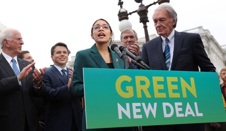 Hasil gambar untuk The Green New Deal goes 0-57 in the Senate
