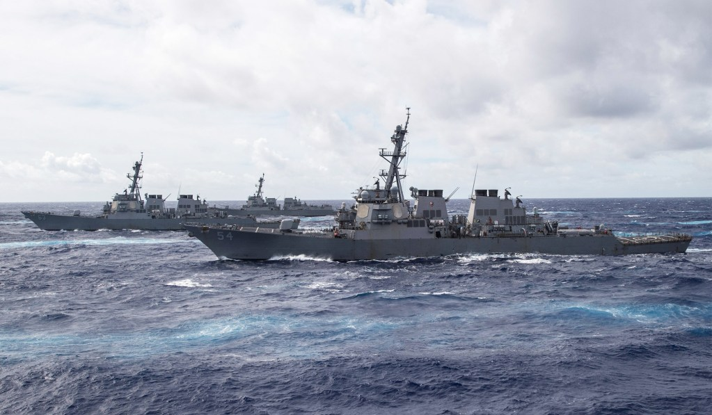 A History of the 2025 Sino–American War in the South China Sea