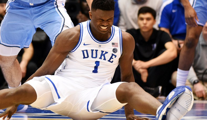 Zion Williamson's Injury and the Injustice of College Sports