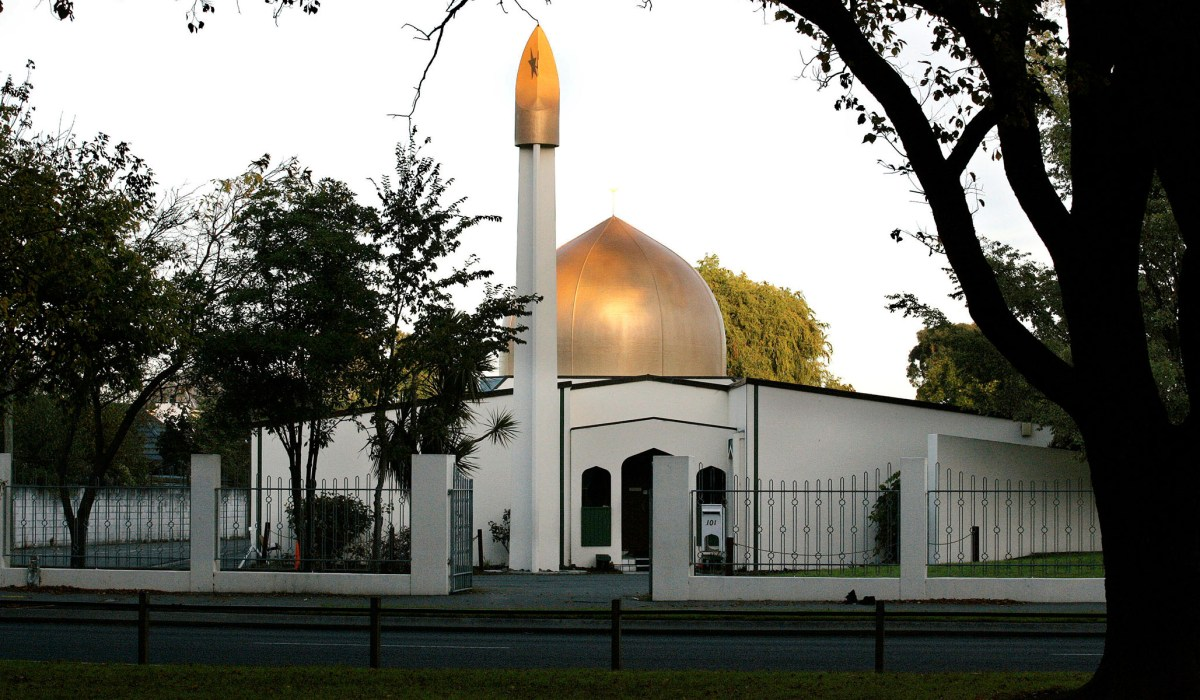 New Zealand Mosque Shooting Facebook: Christchurch Mosque Shooting: Armed Man Chased Gunman Off