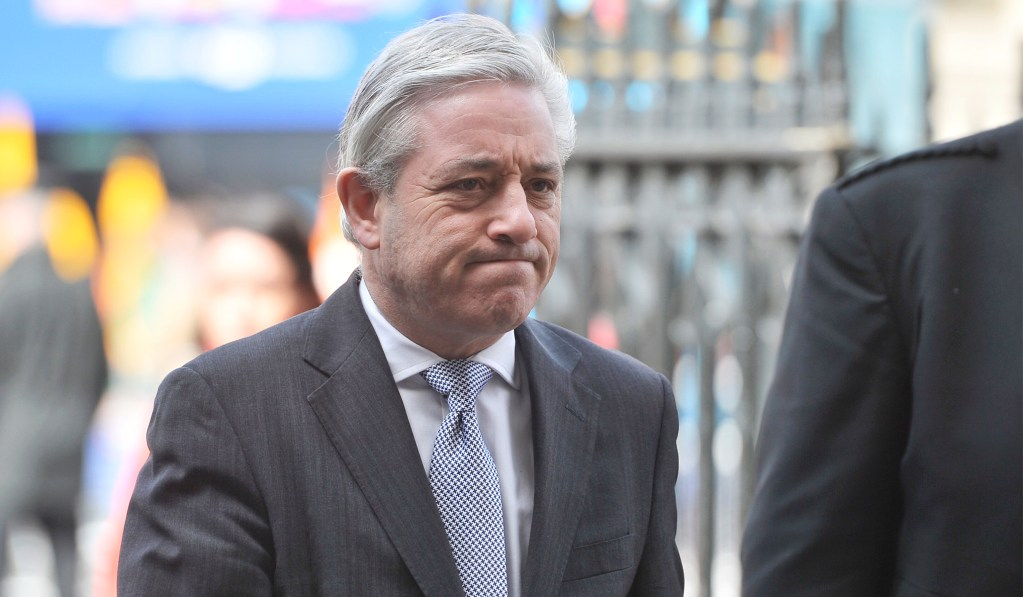 photo image Remainer Speaker John Bercow Met With E.U. Counterpart to Stymie A Clean Brexit