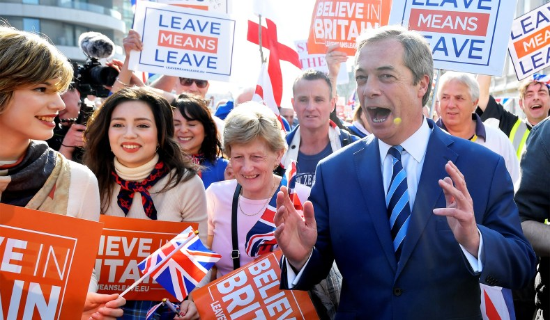 Nigel Farage's 'Brexit Party' is Gaining Steam