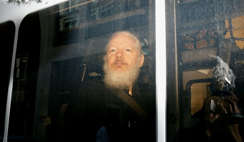 WikiLeaks Founder Julian Assange Indicted on 18 Counts of Conspiracy
