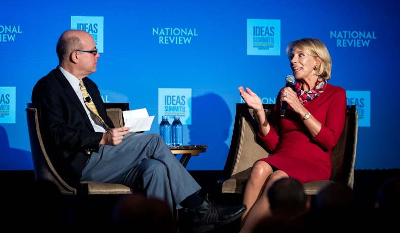 Betsy Devos Wont Be Doing Too Much As >> Betsy Devos One Size Fits All Approach To Education Won T Do