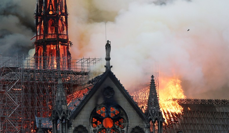 35958952 Notre Dame Cathedral Fire: Good Friday Comes Early for the Cathedral ...