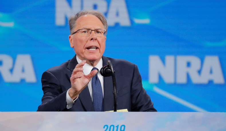 a6bd81ba5c4 NRA executive vp and CEO Wayne LaPierre speaks at the NRA annual meeting in  Indianapolis