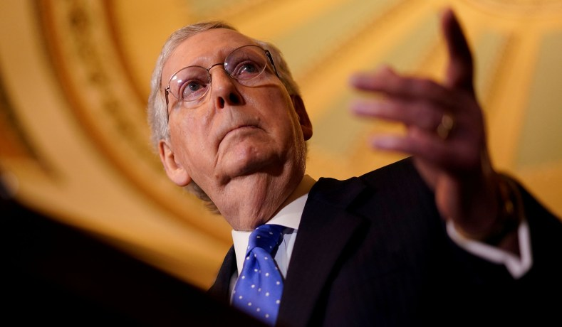 The Democrats Have No Answer for Mitch McConnell. Good.