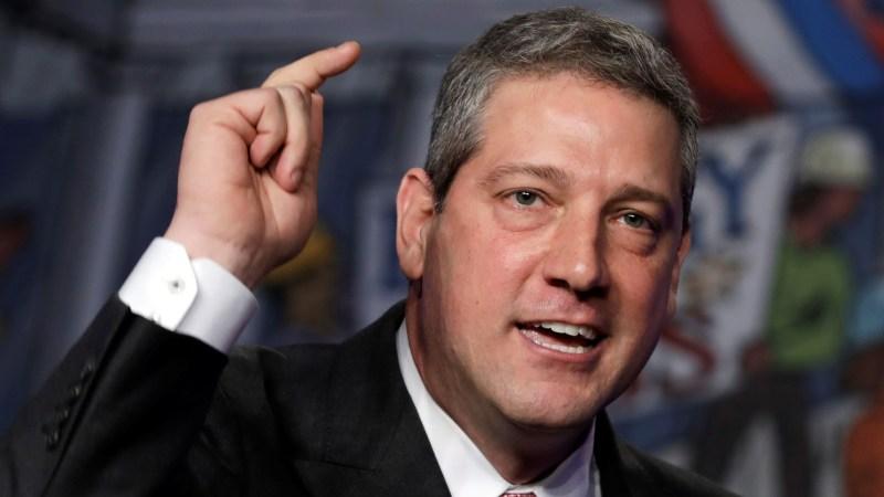 Tim Ryan Says U.S. Must 'Get Rid of the Hyde Amendment'
