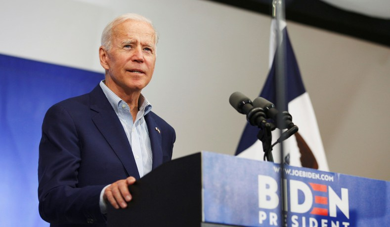 Joe Biden Promises that If Elected, He Will Cure Cancer