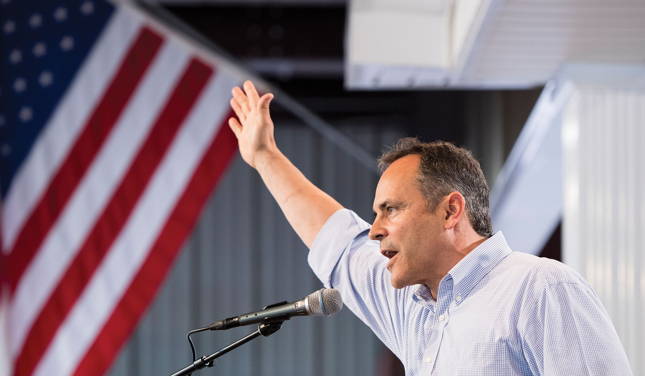 Poll: Kentucky Gubernatorial Race Is Tied Three Weeks Out
