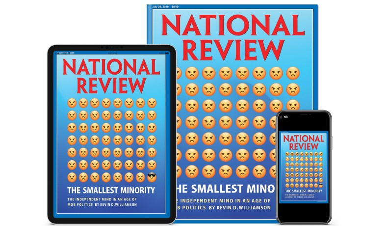 There Is a Mob of Terrific Articles in the New Issue of National