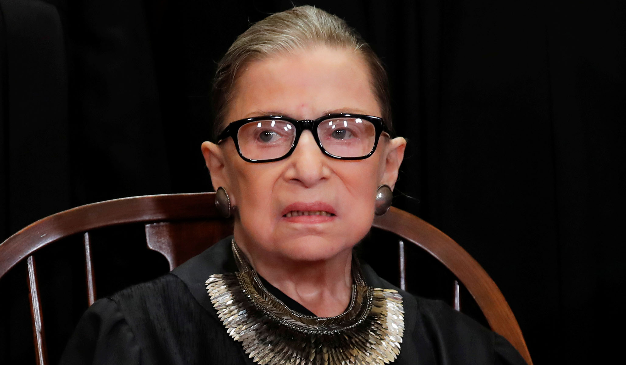 Justice Ginsburg Hospitalized with 'Possible Infection' thumbnail