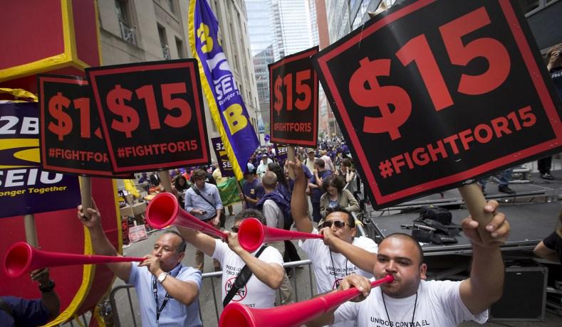 House Passes $15 Minimum Wage Bill