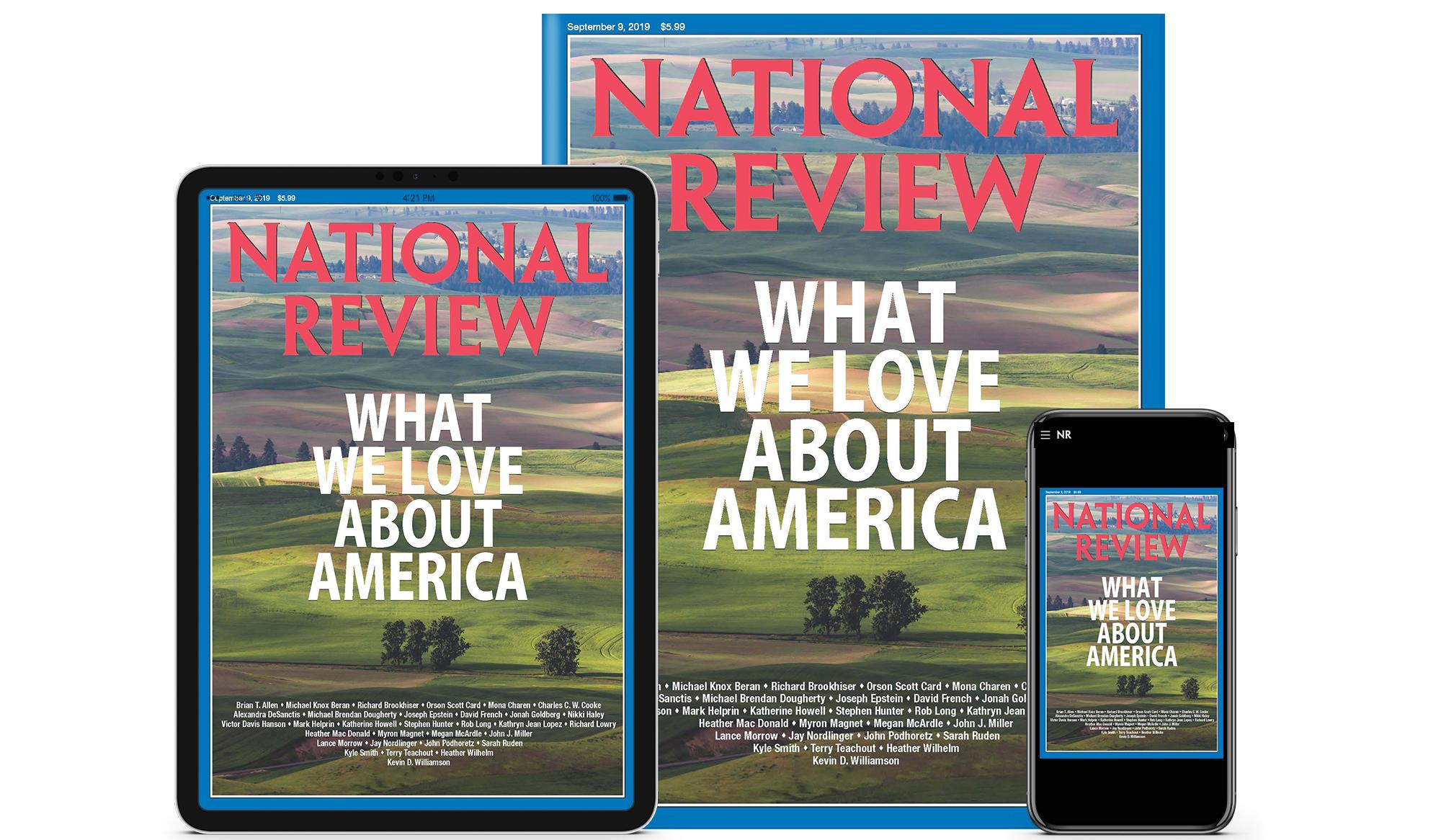 Inside the September 9, 2019, Issue