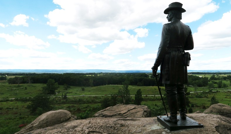 On Visiting Civil War Battlefields