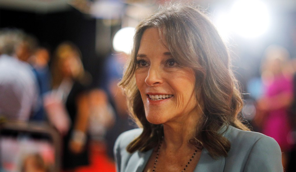 On Love, Marianne Williamson Has a Point