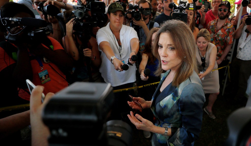 Marianne Williamson Offers Priestly Wisdom for a Nation Adrift — Seriously