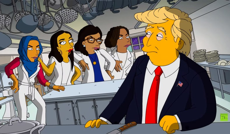 The Simpsons' & 'The Squad': Cowardice of Tribal Comedy